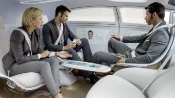 Government experts say driverless pod-like cars are