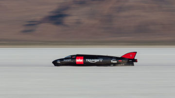 Triumph To Attempt Motorcycle Land Speed Record Next Month