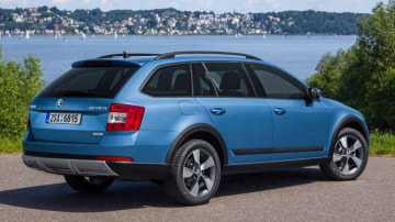 Skoda's 4WD Octavia Scout wagon looks to take on the likes of the Subaru Outback.