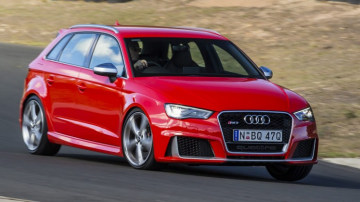 Audi will update its RS3 Sportback next year with a new 294kW 2.5-litre five-cylinder engine that debuts in the TT RS
