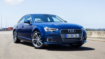 The 2016 Audi A4 makes a compelling argument against some of its German rivals. (2.0 TFSI model shown)