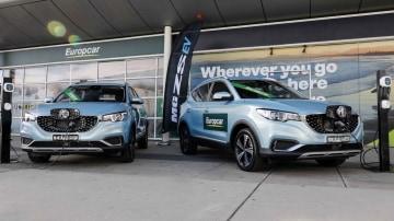 Europcar adds fully-electric MG ZS EV to rental fleet
