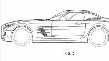 2012 Mercedes-Benz SLS AMG Roadster Patent Application