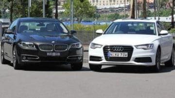 BMW 535d v Audi A6 3.0TDI bi-turbo head to head