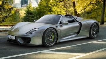 Porsche 918 Spyder Makes Production Debut In Frankfurt: Video