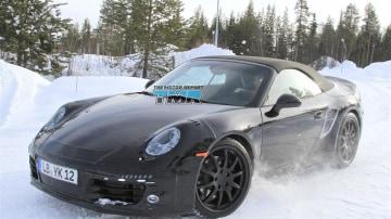 2012 Porsche 911 Carrera Cabriolet Spied Testing