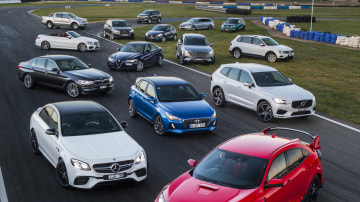 Drive Car of the Year 2017 group shot