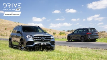 Drive Car of the Year 2021 Best Upper Large Luxury SUV 2021 finalists