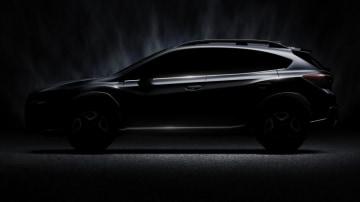 2017 Subaru XV teased.