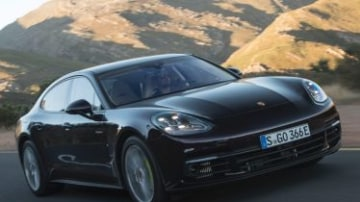 Porsche Panamera 4 E-Hybrid first drive review
