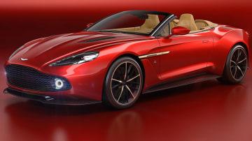 Aston Martin Vanquish Zagato Volante Arrives At Pebble Beach