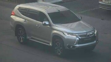Mitsubishi Challenger Spied In The Metal
