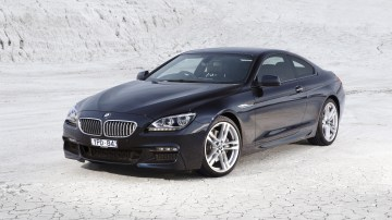 BMW 650i Coupe.