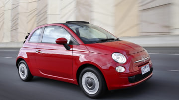 The Fiat 500C isn't your traditional convertible.