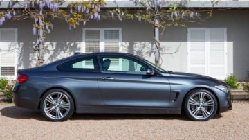BMW 428i coupe.