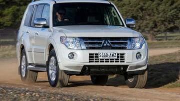 The Mitsubishi Pajero Diesel