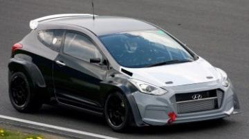 Hyundai test i30 N hot hatch at Nurburgring