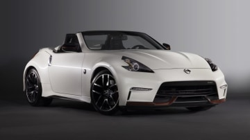 The Nissan 370Z Nismo Roadster concept.