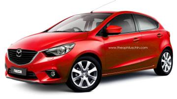 Rendered: Theo Chin Imagines The New 2015 Mazda2