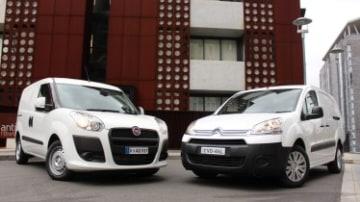 Fiat Doblo and Citroen Berlingo head to head
