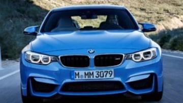 BMW M3 sedan, M4 coupe revealed