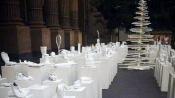'Ungiven Gifts' Exhibition Reminds Drivers To Stay Safe Over Christmas