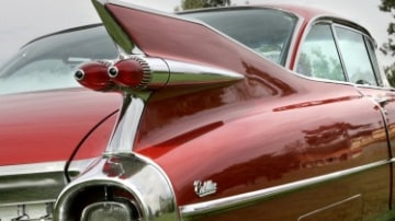 Why classic cars had tailfins