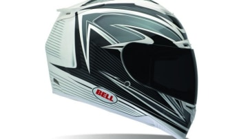 Latest technology: The Bell RS-1 is constructed using a Kevlar/fibreglass composite shell.
