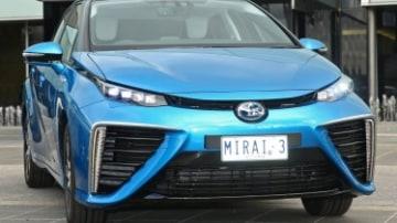 Toyota brings its Mirai to Australia