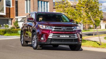 Toyota Kluger.
