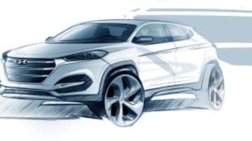 The upcoming Hyundai Tucson.