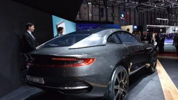 The Aston Martin DBX Concept at the 2015 Geneva motor show.