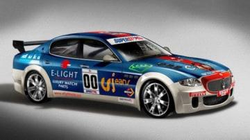 2009 Maserati Quattroporte Set To Race In Italian Touring Cars