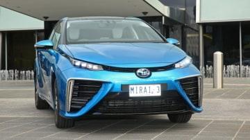 Toyota has brought three of its Mirai alternative fuel vehicles to Australia to promote Hydrogen power.