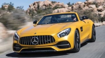 2017 Mercedes-AMG GT Roadster new car review