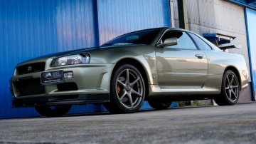 Classic Nissan Skyline model looking to set records