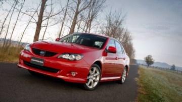 2008 Subaru Impreza Sedan Australian Release