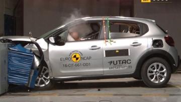 Citroen C3 crash testing