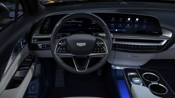 2023 Cadillac Lyriq steering wheel