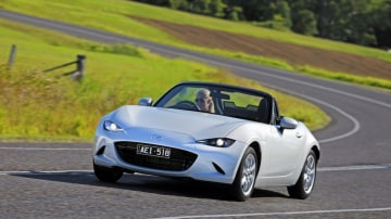 The Mazda MX-5 has finally hit Australian roads.