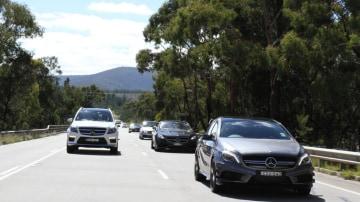 Mercedes-Benz trip to the Bathurst 12 Hour.