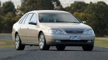 2005 Ford Fairlane Ghia.
