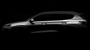 Hyundai Drops First Hint Of New Santa Fe