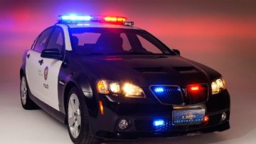 Pontiac G8 Could Live On As Chevy-Badged Police Car