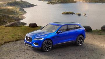 Gathering pace: Jaguar is set to offer a range of SUVs.