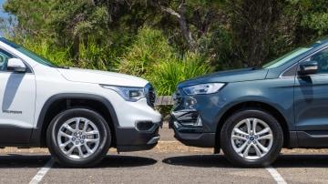 Head to head: Holden Acadia LT vs Ford Endura Trend