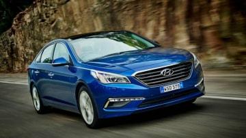 The 2015 Hyundai Sonata Turbo offers plenty of performance.