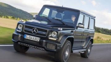 Mercedes-AMG G63 first drive review