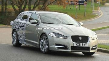 Jaguar XF Sportbrake Wagon Spied