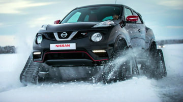 Nissan's Juke Nismo RSnow Shrugs At Your Bad Weather: Video